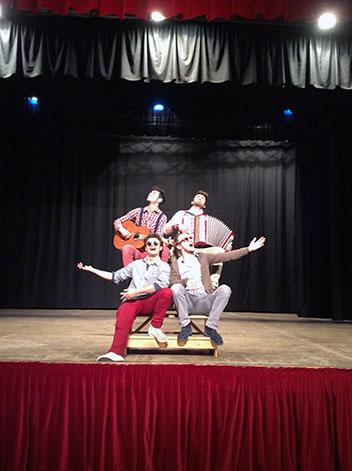 Orchestrina delle Ore, Teatro Canzone